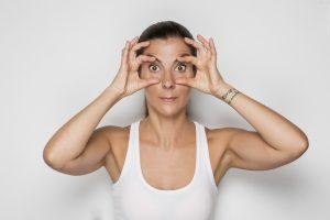 Face Yoga Areti Kafantari eyes